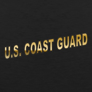 Black coastguard Women's T-Shirts - Men's Premium Tank