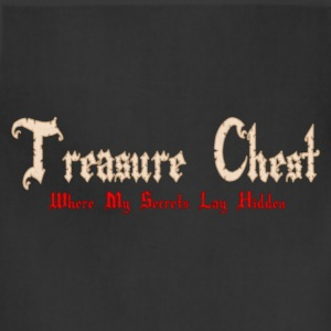 Hot pink Treasure Chest Where My Secrets Lay Hidden Eco-Friendly Tees - Adjustable Apron