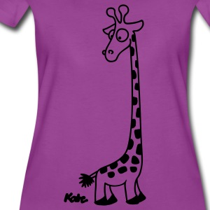 Light pink Giraffe Baby Body - Women's Premium T-Shirt