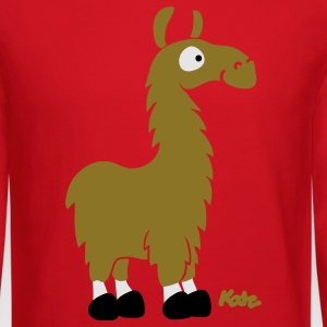 Lemon Lama (c) Women's T-Shirts - Crewneck Sweatshirt