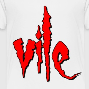 White Vile Kids' Shirts - Toddler Premium T-Shirt