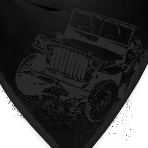 Gray jeep Women's T-Shirts - Bandana