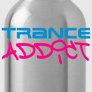 Black Trance Addict T-Shirts - Water Bottle
