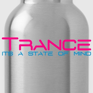 Black Trance State of Mind T-Shirts - Water Bottle