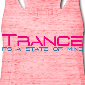 Pink Trance State of Mind Women's T-Shirts - Women's Flowy Tank Top by Bella
