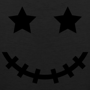 Black Voodoo Smiley V3 Sweatshirts - Men's Premium Tank