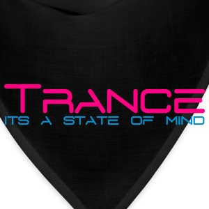 Black Trance State of Mind Sweatshirts - Bandana