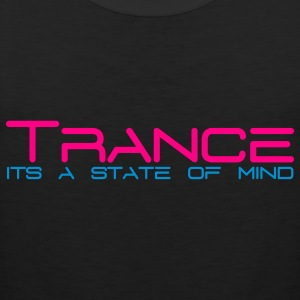 Black Trance State of Mind Sweatshirts - Men's Premium Tank