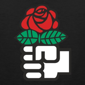 Socialist Red Rose - Men's Premium Tank