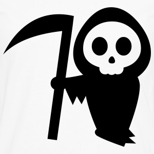 White grim reaper halloween Kids' Shirts - Men's Premium Long Sleeve T-Shirt