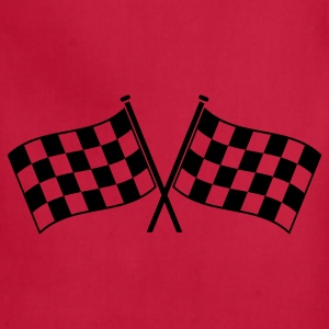 two checkered flags RACING MOTOR SPORTS Accessories - Adjustable Apron