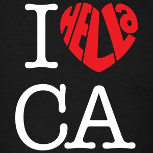 I Hella Love California - Men's T-Shirt