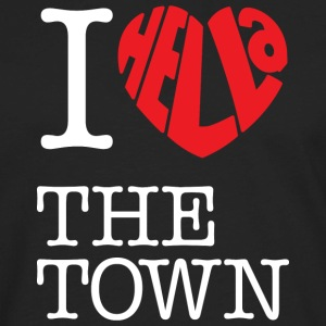 I Hella Love The Town - Men's Premium Long Sleeve T-Shirt