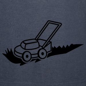 lawn mower mowing contractor cutting grass Hoodies - Vintage Sport T-Shirt