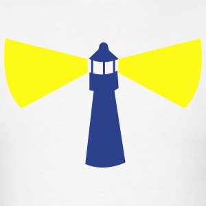 LIGHTHOUSE light house with light Hoodies - Men's T-Shirt