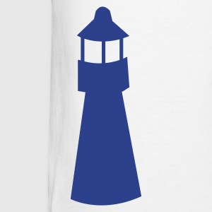 lighthouse watchtower shape Hoodies - Men's T-Shirt