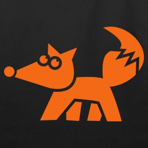 funky fox FOXY Hoodies - Eco-Friendly Cotton Tote