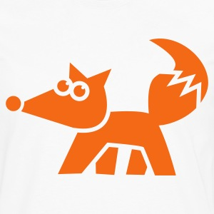 funky fox FOXY Hoodies - Men's Premium Long Sleeve T-Shirt