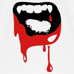 wide open vampire kiss TEETH! Hoodies - Men's Premium T-Shirt
