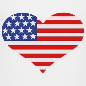 US Flag Kids' Shirts - Toddler Premium T-Shirt