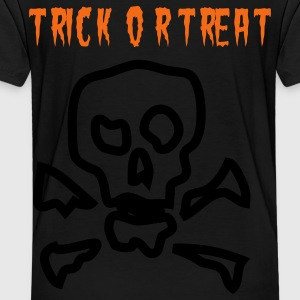 trick_or_treat_skull Sweatshirts - Toddler Premium T-Shirt
