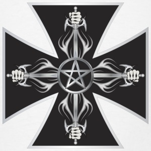 Maltese Cross Hoodies - Men's T-Shirt