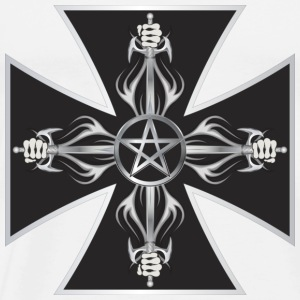 Maltese Cross Hoodies - Men's Premium T-Shirt