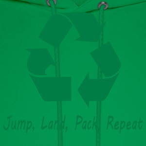 Jump Land Pack Repeat T-Shirts - Men's Hoodie