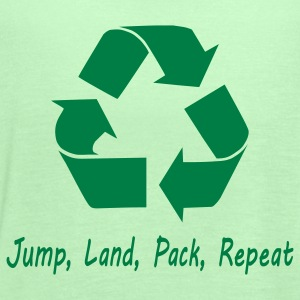 Jump Land Pack Repeat T-Shirts - Women's Flowy Tank Top by Bella