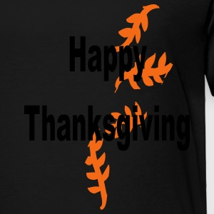 happy_thanksgiving_leafs Sweatshirts - Toddler Premium T-Shirt