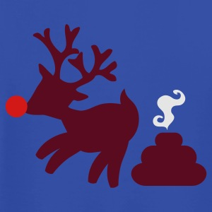 RUDOLPH the red nosed POOPER i have christmas Tanks - Men's T-Shirt by American Apparel