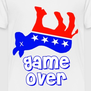 Democrats Game Over Kids' Shirts - Toddler Premium T-Shirt