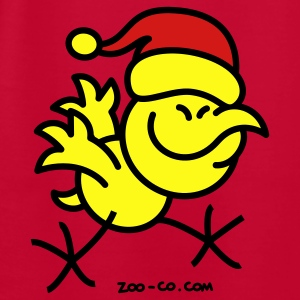 Merry Christmas Chicken Sweatshirts - Men's T-Shirt by American Apparel