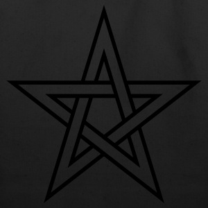 Pentagram ( Vector Graphic ) - Eco-Friendly Cotton Tote