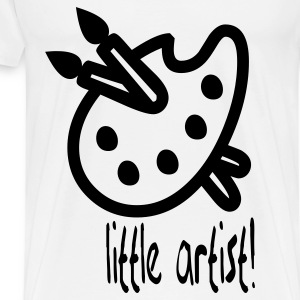 little_artist Baby Bodysuits - Men's Premium T-Shirt