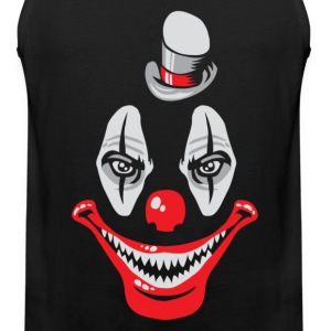 Naughty clown T-Shirts - Men's Premium Tank