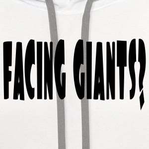 facing_giants Kids' Shirts - Contrast Hoodie