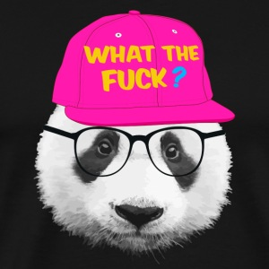 panda what the fuck ? Hoodies - Men's Premium T-Shirt