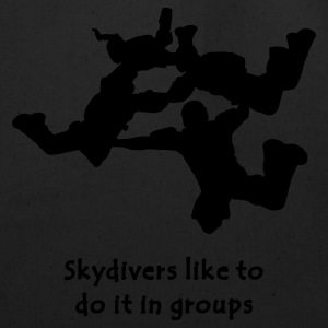 Skydivers Like To Do It In Groups - Eco-Friendly Cotton Tote