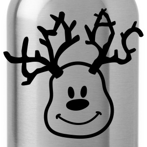 reindeer xmas Kids' Shirts - Water Bottle