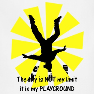 The sky is NOT my limit it is my PLAYGROUND - Adjustable Apron