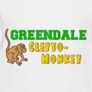 Community Greendale Clepto-Monkey Kids' Shirts - Toddler Premium T-Shirt