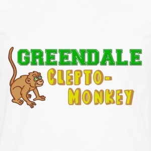 Community Greendale Clepto-Monkey Kids' Shirts - Men's Premium Long Sleeve T-Shirt