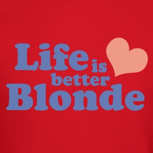 Aqua Life is better Blonde Juniors - Crewneck Sweatshirt