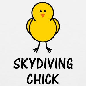 Skydiving Chick - Men's Premium Tank