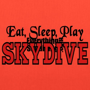 Eat Sleep Play Skydive Women's T-Shirts - Tote Bag