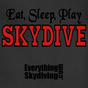 Eat Sleep Play Skydive T-Shirts - Adjustable Apron