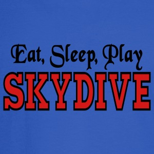 Eat Sleep Play Skydive Tanks - Men's Long Sleeve T-Shirt