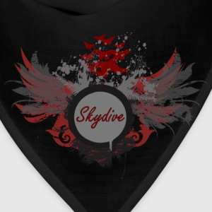 Skydive With Wings T-Shirts - Bandana