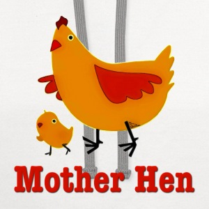 Mother Hen Kids' Shirts - Contrast Hoodie